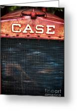 Case Greeting Card by John Rizzuto