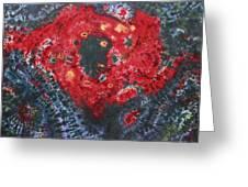 Cassiopeia Super Nova Greeting Card by Carl McClellan