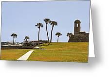 Castillo De San Marcos St Augustine Fl Greeting Card by Christine Till