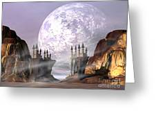 Castle Valley Greeting Card by Corey Ford