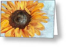 Catching Rays Greeting Card by Blanche Guernsey