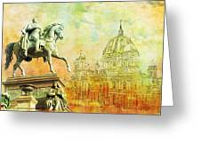 Cathedral De Berlin Greeting Card by Catf