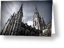 Cathedral Greeting Card by Kari Espeland