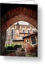 Cathedral Of Ste-cecile In Albi France Greeting Card by Elena Elisseeva