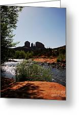 Cathedral Rock Greeting Card by Mel Steinhauer