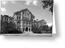 Catholic University Mc Mahon Hall Greeting Card by University Icons
