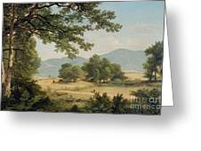 Catskill Meadows In Summer Greeting Card by Asher Brown Durand