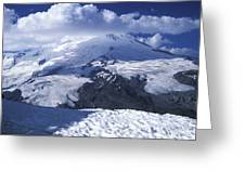 Caucasia Elbrus Greeting Card by Unknown