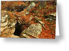 Cave Greeting Card by Billy Beasley