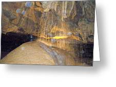 Cave Greeting Card by Denny Casto