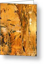 Cave Of Gold Greeting Card by Nancy Kane Chapman