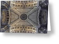 Ceiling  Arcoarua De Augusta Greeting Card by Nathan Mccreery