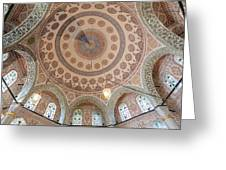 Ceiling Tombs Greeting Card by Rob Van Esch