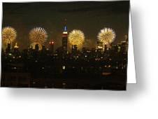 Celebrate Freedom Greeting Card by Carl Hunter