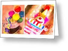 Celebrate Greeting Card by Rebecca Cozart