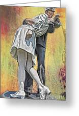 Celebration Embrace Greeting Card by Tom Gari Gallery-Three-Photography