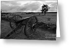 Cemetery Ridge Gettysburg Battlefield Greeting Card by James Brunker