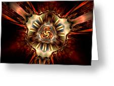 Center Of Authority Greeting Card by Claude McCoy