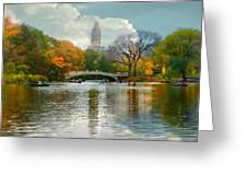Central Park #6 Greeting Card by Diana Angstadt