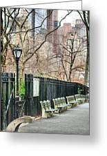 Central Park Greeting Card by JC Findley