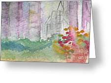 Central Park  Greeting Card by Linda Woods