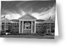 Centre College - Crounse Hall Greeting Card by University Icons