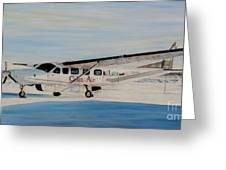 Cessna 208 Caravan Greeting Card by Marilyn  McNish