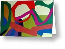 Cha cha Greeting Card by Diane Fine