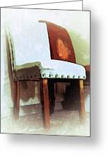 Chairs Greeting Card by Robert Smith