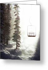 Chairway To Heaven Greeting Card by Kevin Munro