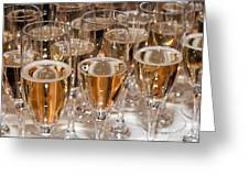 Champagne 01 Greeting Card by Rick Piper Photography