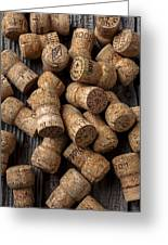 Champagne Corks Greeting Card by Garry Gay