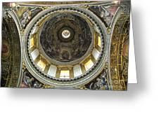 Chapel Dome Greeting Card by Deborah Smolinske