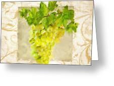Chardonnay II Greeting Card by Lourry Legarde