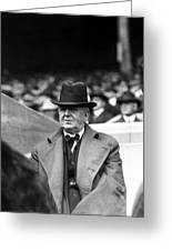 Charles A. (charlie) Comiskey Manager Greeting Card by Retro Images Archive