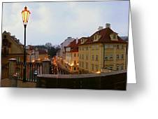 Charles Bridge 180 Greeting Card by Gary Lobdell