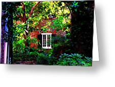 Charleston's Charm And Hidden Gems  Greeting Card by Susanne Van Hulst