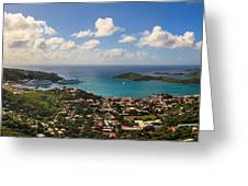 Charlotte Amalie St. Thomas Greeting Card by Keith Allen