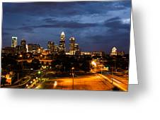 Charlotte At Dusk Greeting Card by Phyllis Peterson