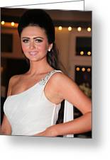 Charlotte Dawson 4 Greeting Card by Jez C Self