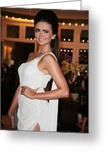 Charlotte Dawson 8 Greeting Card by Jez C Self
