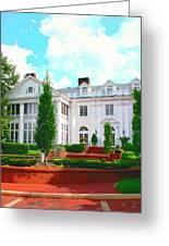 Charlotte Estate Charlotte Nc Greeting Card by William Dey