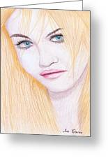 Charlotte Free Greeting Card by M Valeriano