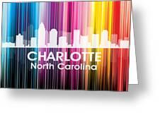 Charlotte Nc 2 Greeting Card by Angelina Vick