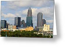 Charlotte Panorama IIi Greeting Card by Gene Berkenbile