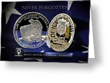Charlotte Police Memorial Greeting Card by Gary Yost