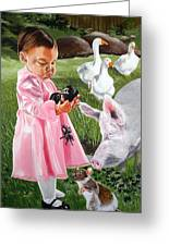 Charlotte's Web Greeting Card by Belle Massey