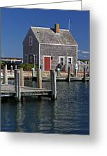 Charming Edgartown Harbor  Greeting Card by Juergen Roth