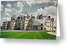 Chateau De Chenonceau Greeting Card by Diana Angstadt