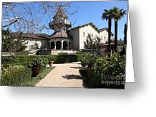 Chateau St. Jean Winery 5d22202 Greeting Card by Wingsdomain Art and Photography